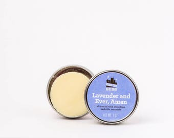 Lavender and Ever, Amen - Solid Lotion Bar