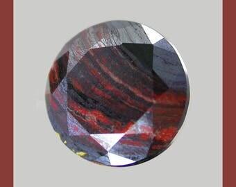 TIGER IRON (34063) <<+>> Gorgeous! 10mm Exotic Material - Tiger Eye & Iron - Australia