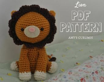 Lion King Amigurumi : Lion king pattern Etsy