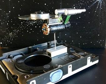 Mini Disc Starship U.S.S. Enterprise NCC-1701, version  1.5
