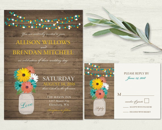 like this item - Daisy Wedding Invitations