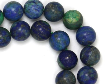 Chrysocolla Beads - 9mm Round - Limited Quantity