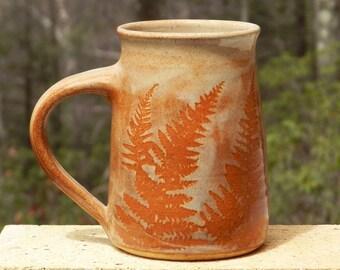 Oversize Coffee Mug, 22 oz., Big Stoneware Mug, Handmade,Pottery,Woodland,Wheel Thrown, Kitchen decor,Dishware,Microwavable, Country,Cottage