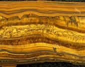 Tiger's Eye Slab Cabbing Lapidary Cab Gemstone Cabochon Rough Slab #1815