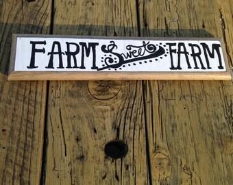 FARM sweet FARM market sign