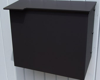 Modern Mailbox No. 1711 Wrap-Front in Powder Coated Aluminum