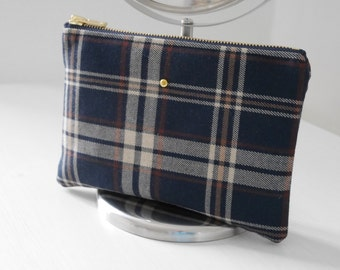DUDE Pouch - Tartan / British / Gift for her / Gift for him / Accessory / Wedding accessory