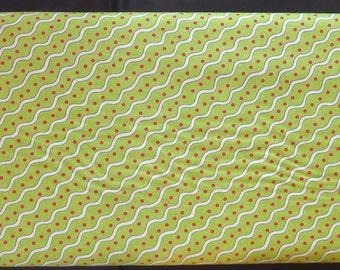 Moda - Deb Strain - Ho Ho Ho 19706 16 - Wrapping Paper Elf Green
