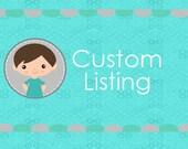 Custom Listing for Alisa D.
