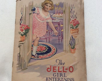 1920 Jello Recipe Pamphlet Rosie O'neill