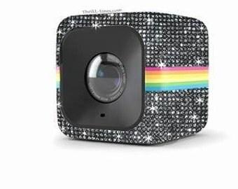Polaroid Cube Camera Customized With Swarovski Elements