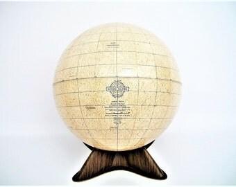 RARE Moon/Lunar Globe Weber Costello 1969 FREE Shipping Lower 48