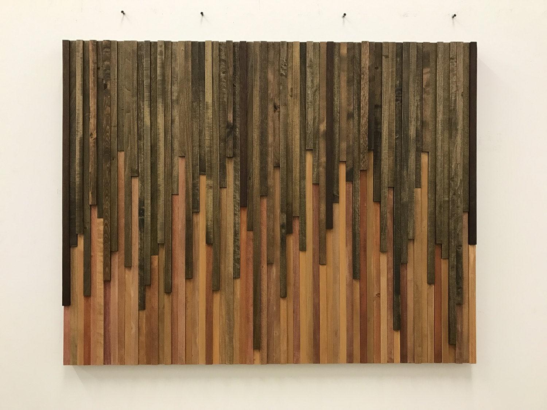 Sculpture Wall Art wall art - wood wall art - rustic wood sculpture wall installation