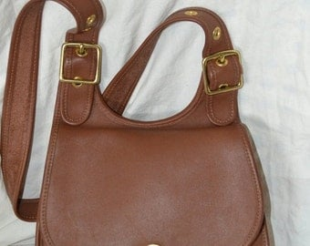 Coach~Coach Bag~ Bonnie Cashin Bag~Coach Saddle Bag~ British Tan~