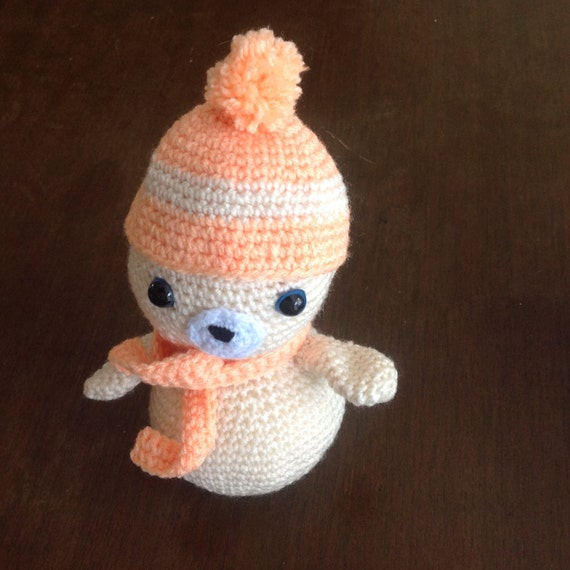 Items similar to Amigurumi seal. Crochet seal. Child safe ...