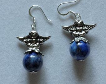 Angel Lapis Earrings