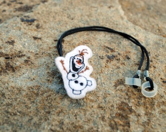 Silly Snowman - Hearing Aid Cord or Cochlear Implant Cord