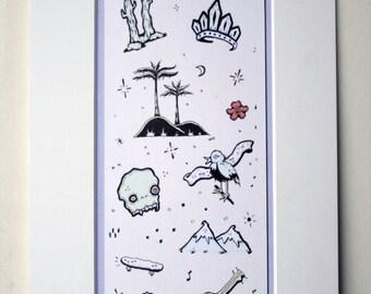 Baja Art Print