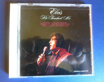 Elvis Presley He Touched Me CD 1992