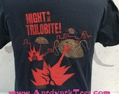 Night of the Trilobite - Hand-Printed T-Shirt