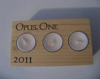 2011 Opus One Candle Holder
