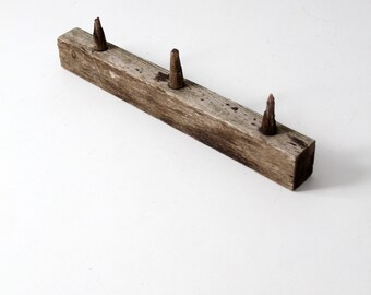 antique wooden post rack, electrical post board