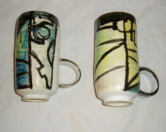 Handmade Pottery Mugs