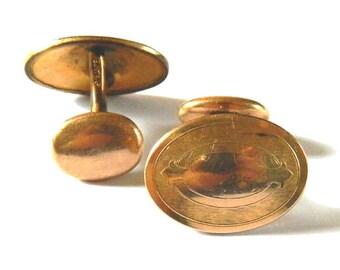 Antique Gold Filled Cufflinks