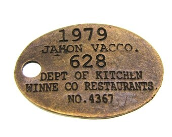 Bronze Charms : 5 Antique Bronze Vintage Style Restaurant Kitchen ID Charms (Great for Assemblage) -- Lead & Nickel Free 15482.K4B