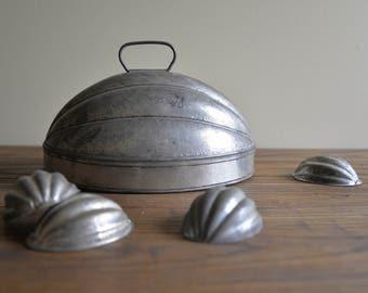 Vintage Kreamer Tin Mold