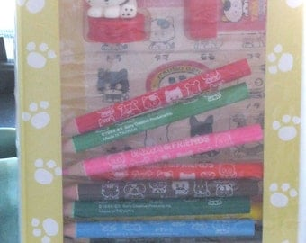 1988 Sony Creative Productions Tama and Her Friends Pencil Kit SEALED