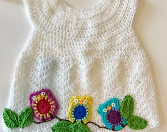 Baby Owl Dress Sizes Toddlers or Newborn- 5T