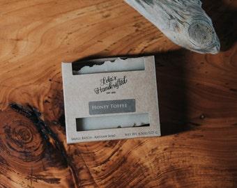 Honey Toffee-Cold Process-VEGAN- Soap