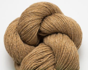Tawny Lion Silk Cashmere Heavy Fingering Weight Recycled Yarn, SCH00244