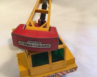 Matchbox Taylor Jumbo-Crane 1971 King Size No. 14