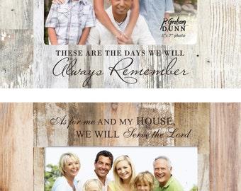 Personalized Family Design Photo Frame - Engraved Family Picture Frame - Family Portrait - Family Photo Frame - Family Memories