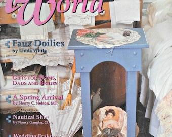 Tole World Magazine, Vintage - June 1994 Issue