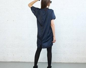 Summer Sale --- Geometric Print Dress