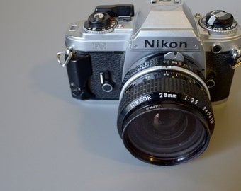 Vintage Nikon FG 35MM Film Camera- Check out our great selection of Cameras