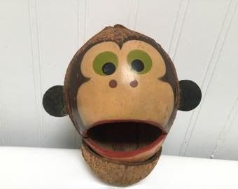 Monkey Coconut Head