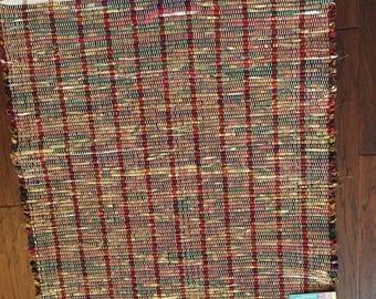Classic handwoven Rag Rug