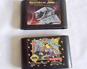 2 Sega Genesis Games Game 1990's