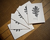 5-Notecard Set: White Oak...