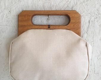 Vintage 60s 70s Tote Bag