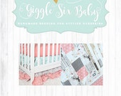 RESERVED for cristylin360 - Fawn  Crib Bedding