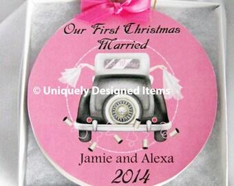 Gay Wedding Ornament - Lesbian Wedding Ornament - Christmas Gift - Gay Ornament - Wedding Ornament -Christmas