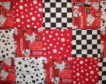101 Dalmations Patchwork  Quilt