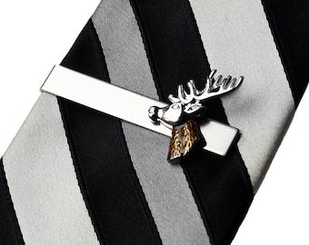 Deer Tie Clip