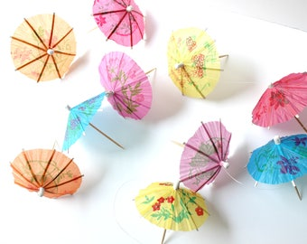 Tropical Umbrella Garland, Tropical Party, Summer Party, Birthdays, Weddings, Photo Prop