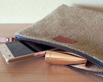 Camel large pouch - organizer